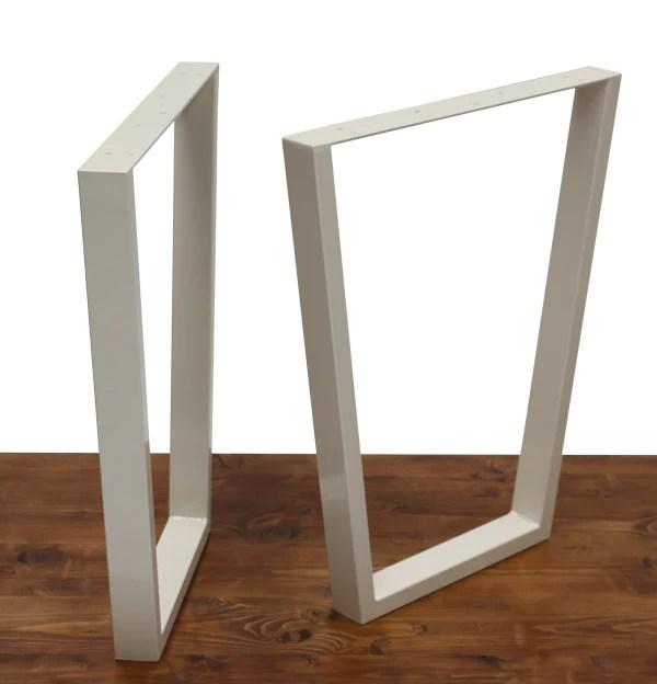 pied de table industriel en metal
