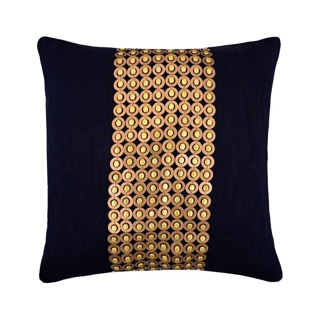 decorative silk throw pillow cover