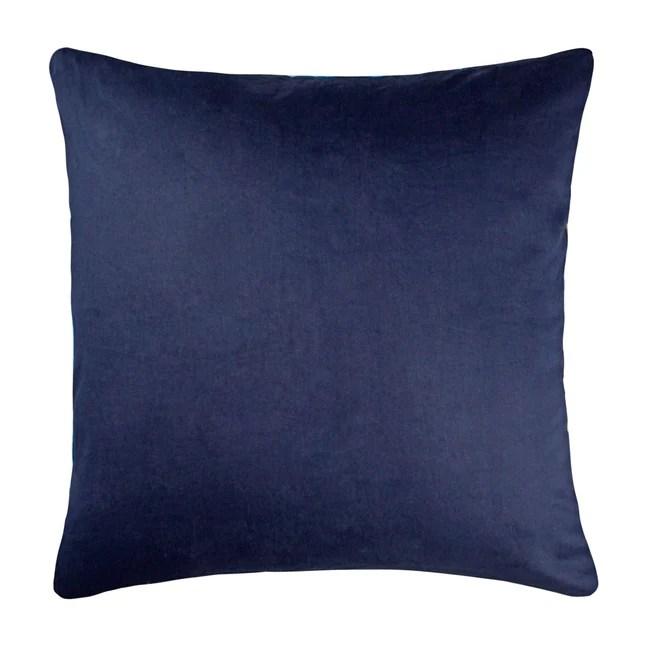 la grandiose navy blue throw pillow cover threadcentric