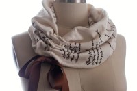 Romeo and Juliet Ribbon Book Scarf - Literary Scarf