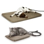 K H Lectro Soft Outdoor Heated Bed Cover For Dogs Cats K H Pet Products