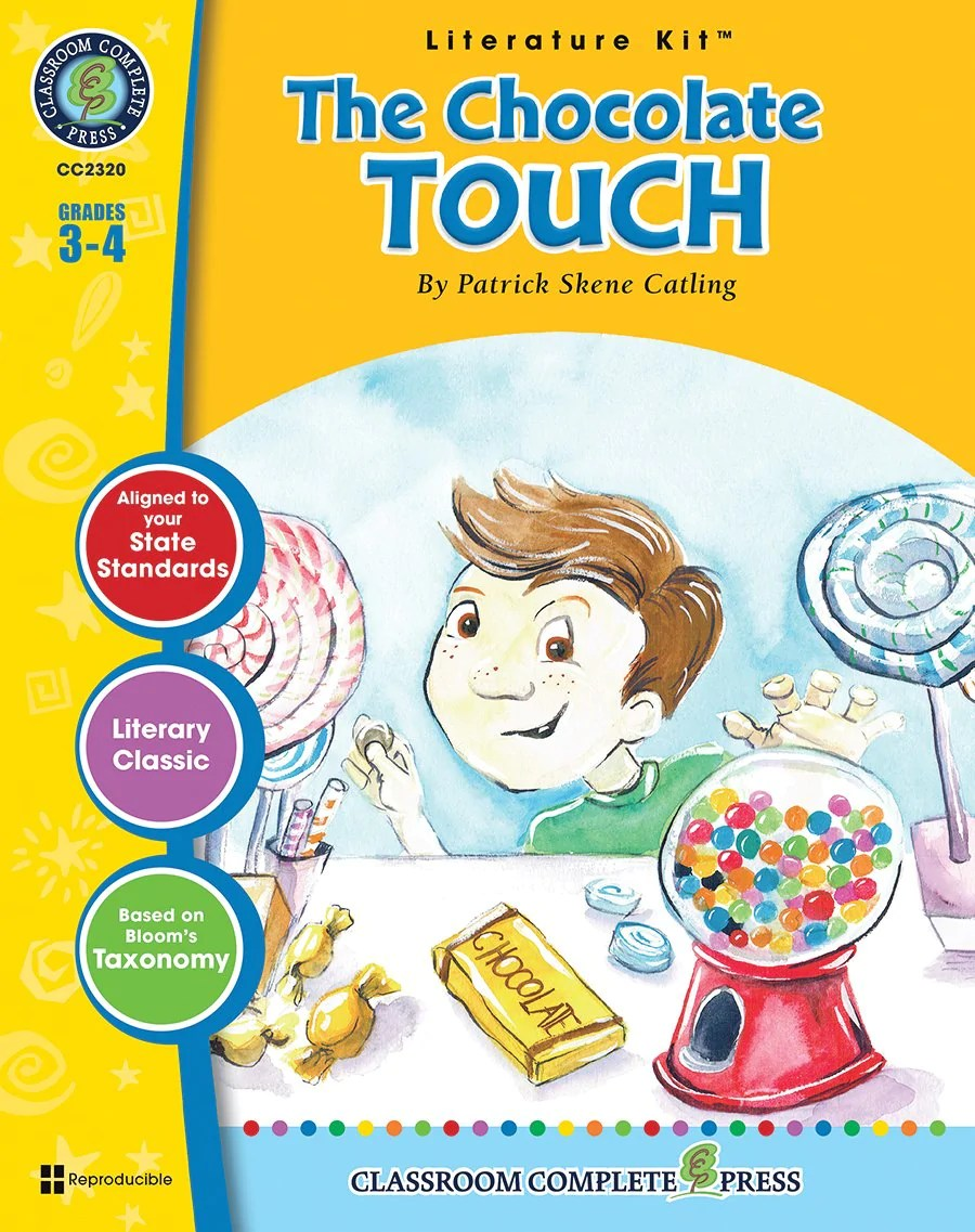 small resolution of The Chocolate Touch (Patrick Skene Catling) – CLASSROOM COMPLETE PRESS