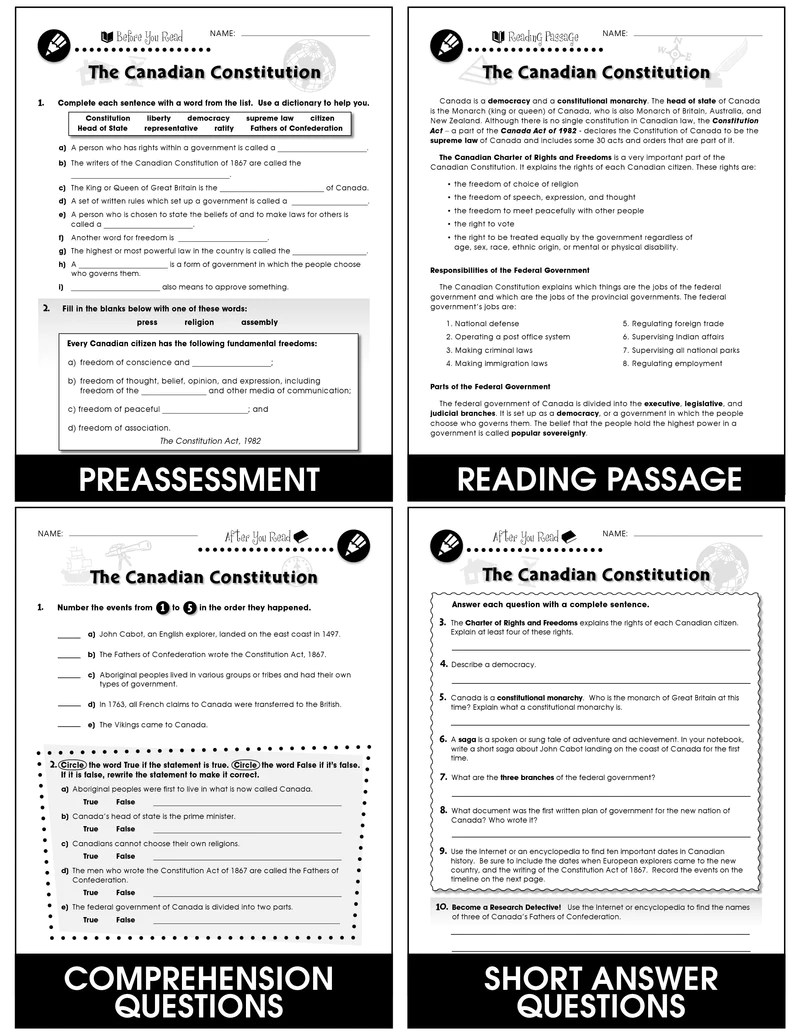 hight resolution of Canadian Government – CLASSROOM COMPLETE PRESS