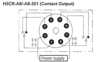 Analog Timer H3CRA8 Omron | Jababeka Elektrik