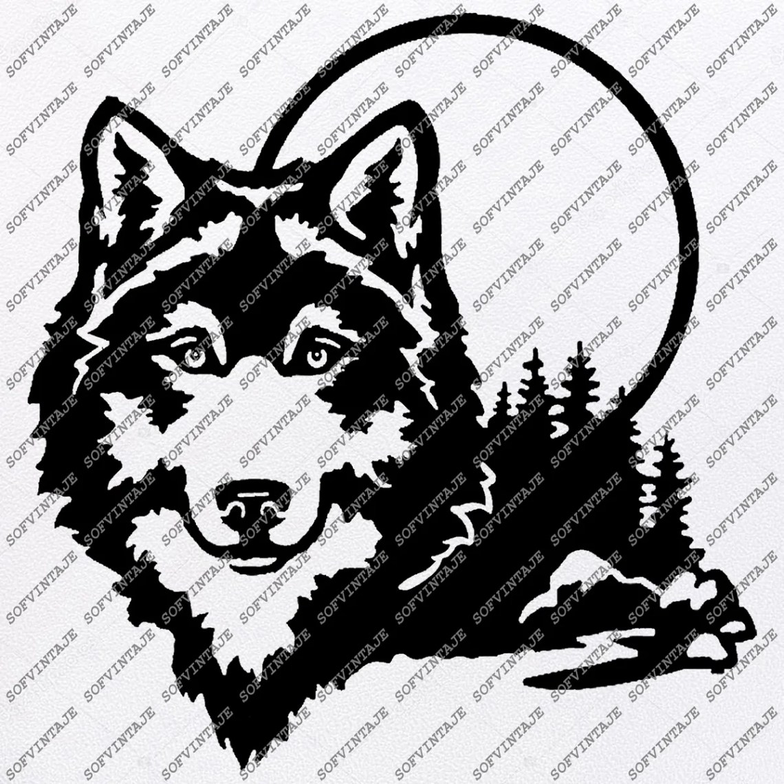 Download Wolf Svg Files - Wolf Silhouette - Animal Svg - Wolf Png ...