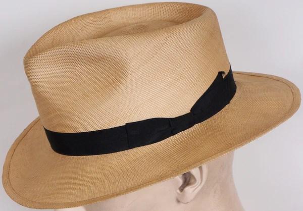 1940s mens fashion panama hat fedora