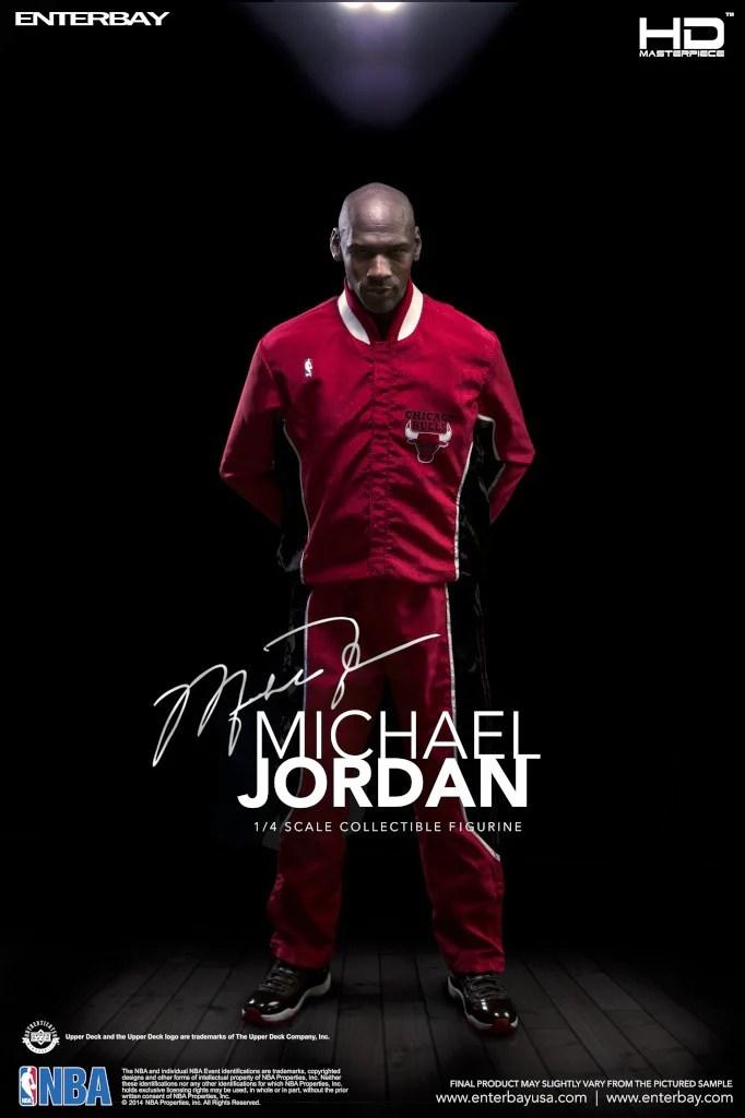 HD 1015 14 NBA EnterBay Figurine Michael Jordan