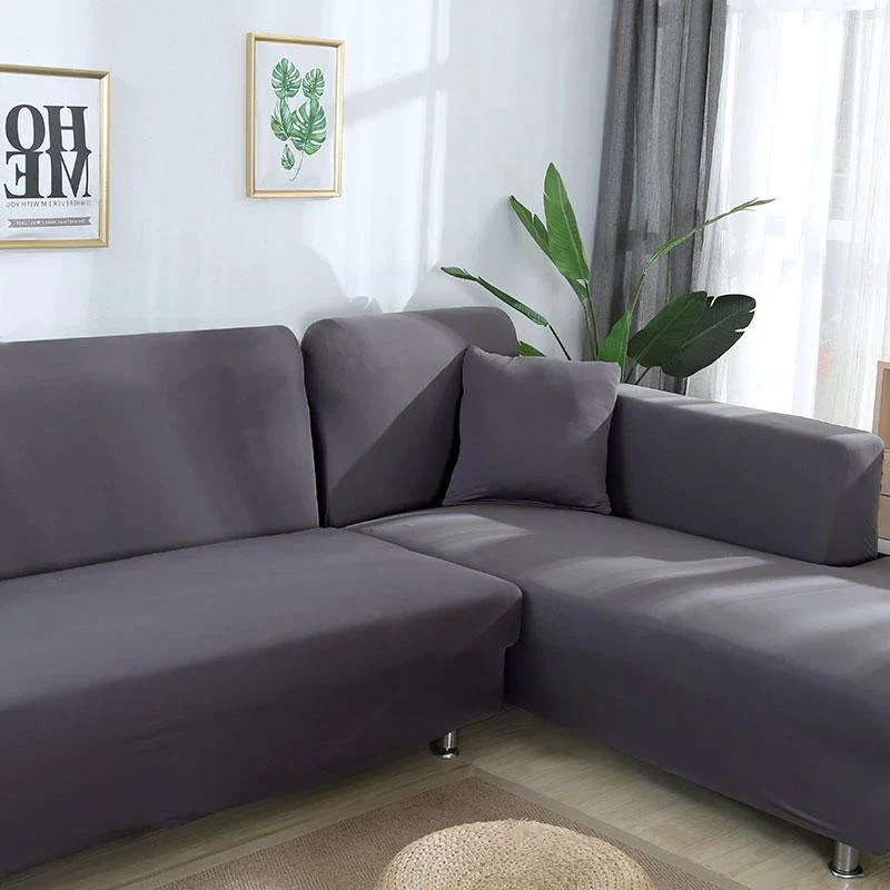 housse canape d angle gris anthracite