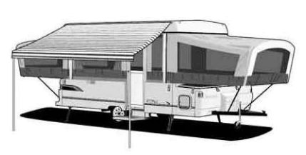 1998 Coleman Taos Pop Up Camper Floor Plan | Home Plan