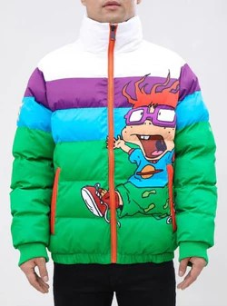 Rugrats Clothing : rugrats, clothing, FreezeMax, FREEZE, PUFFER, RUGRATS, MULTI, NK60301-MUL, Empire, Clothing