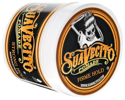 Firme (Strong) Hold Pomade - Angled