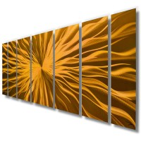 """Cosmic Energy - Copper Candy"" 68""x24"" Large Modern ..."
