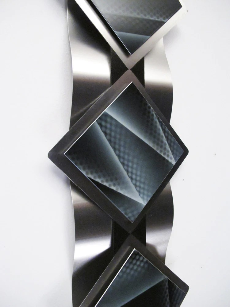 Reflections Series Modern Abstract Metal Wall Art