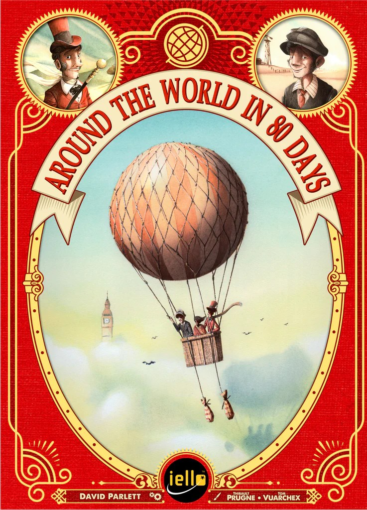 Image result for around the world in 80 days board game 2016