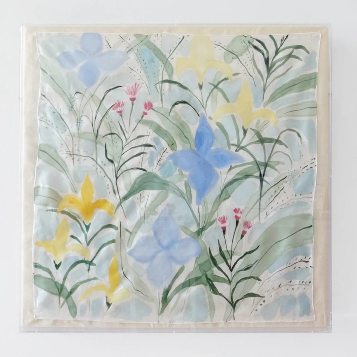 framed silk no 16