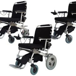Motorized Wheel Chair Modern Stackable Chairs Electric Power Wheelchair Lightweight Folding Ez Lite Cruiser Deluxe Regular Models