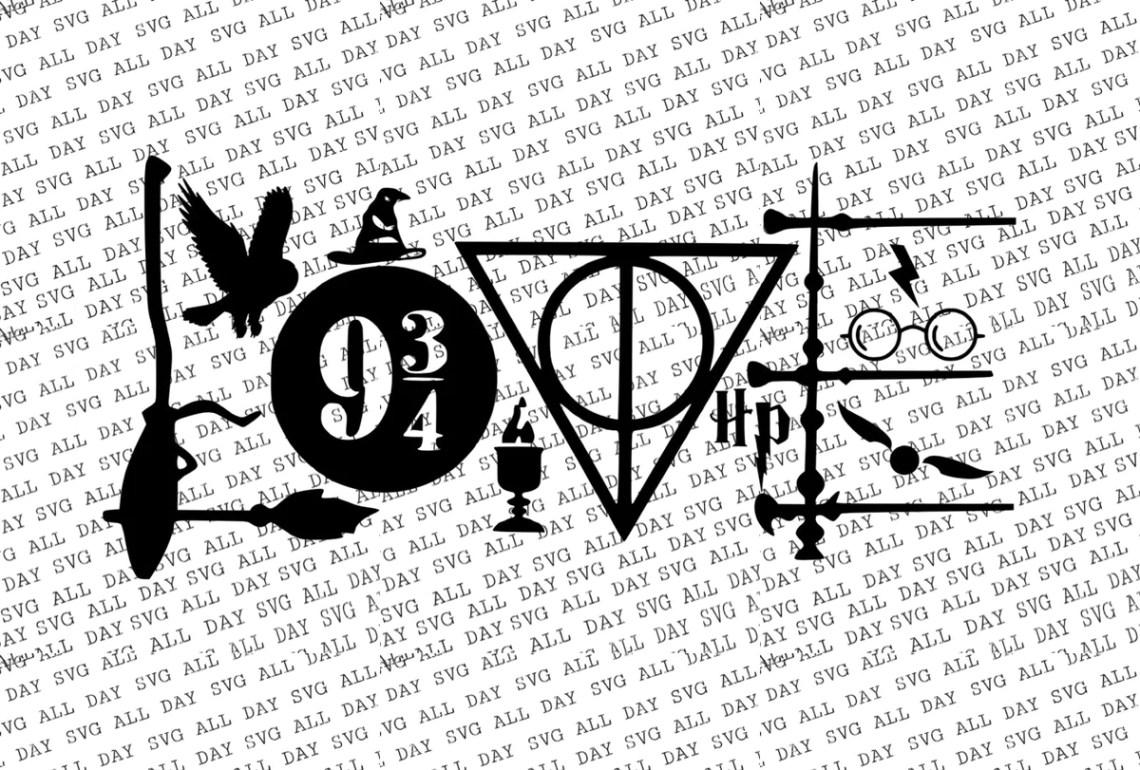 Download Harry Potter Love SVG/JPG - Dandy Designs