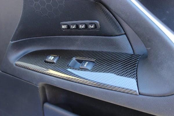 Lexus isF full carbon fiber interior  UniqueKarbon