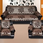 Kingly Cotton 12 Pcs Rangoli Design Sofa Covers Set Of 5 Seater