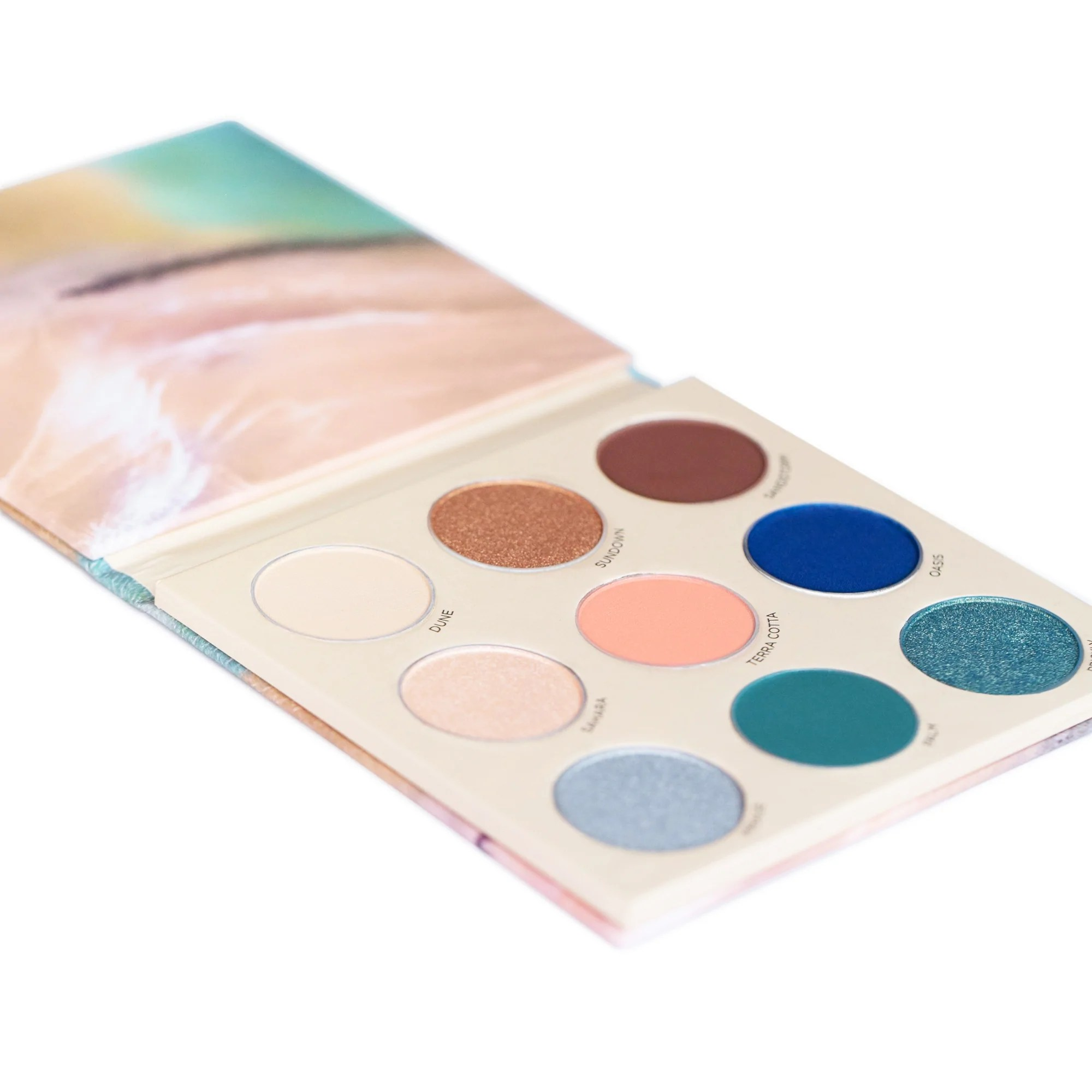 desert mirage eyeshadow palette