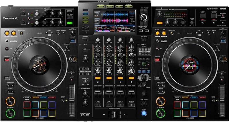 pioneer xdj xz dj system for rekordbox and serato dj pro