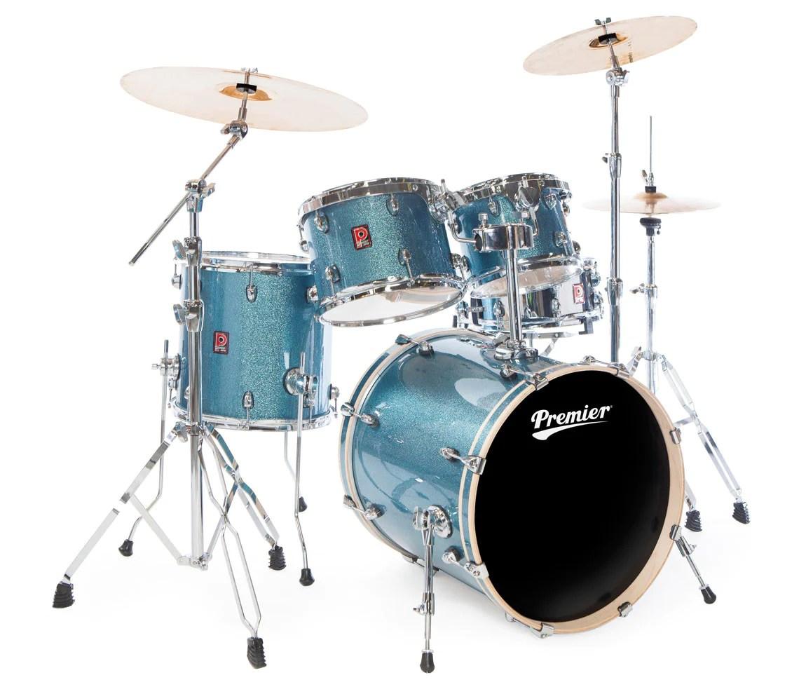 Modern Drum Set Diagram