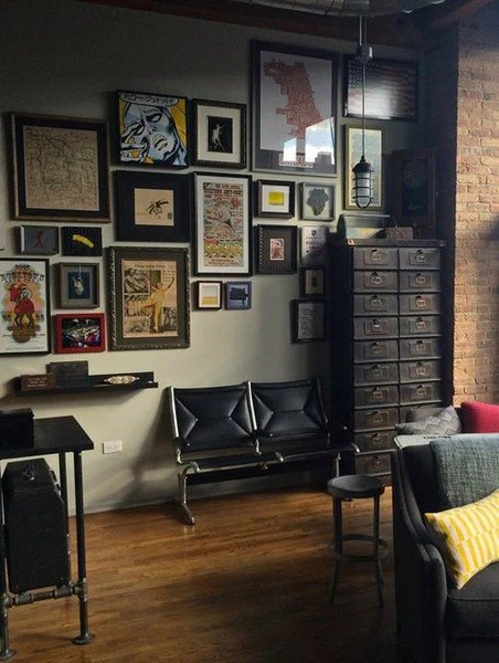 Man Cave Ideas Decorate Your Bachelor Pad With Original Vintage Poste  Rue Marcellin