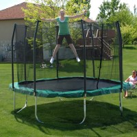 Skywalker Trampolines 11x11 ft Square Trampoline and ...