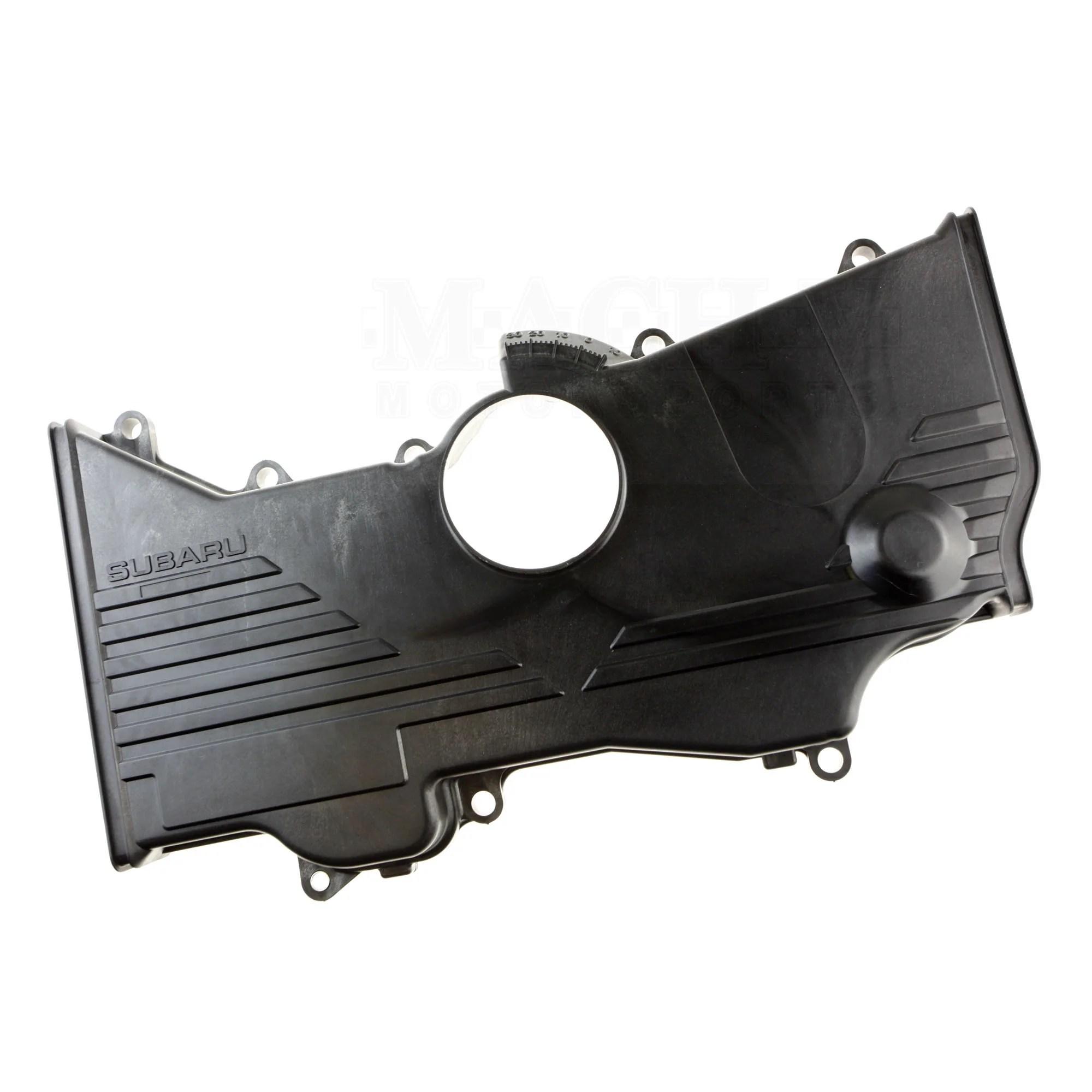 medium resolution of  subaru ej center timing belt cover front