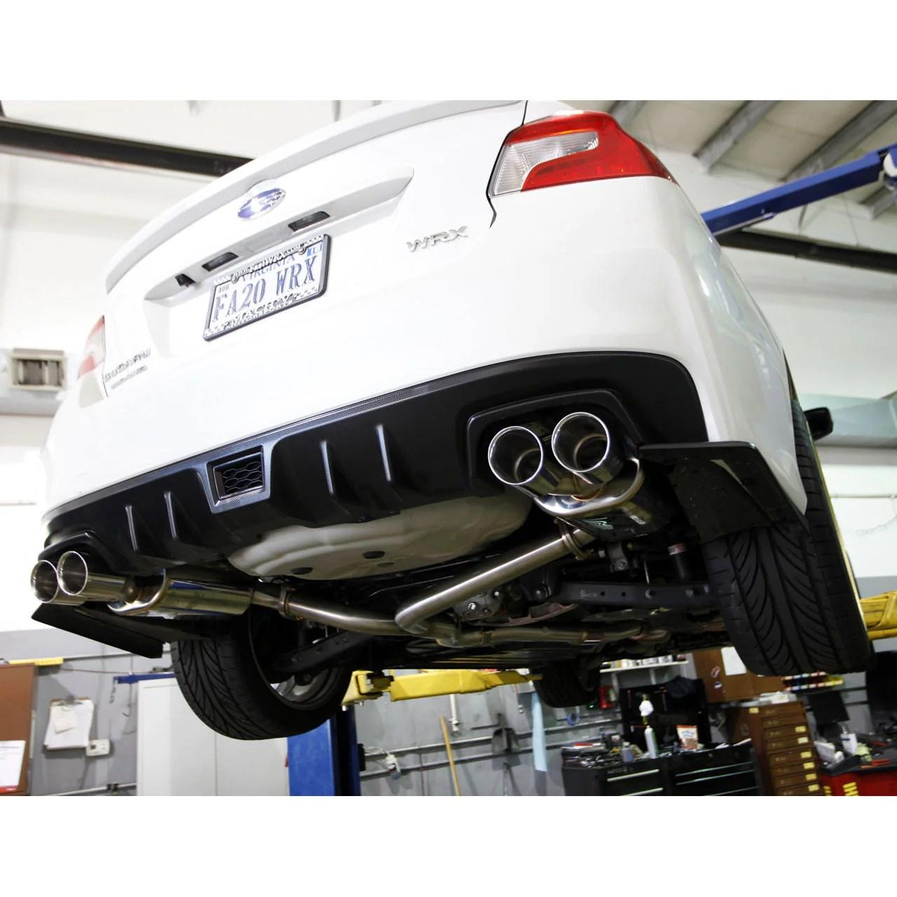 cobb tuning cat back exhaust 2015 wrx