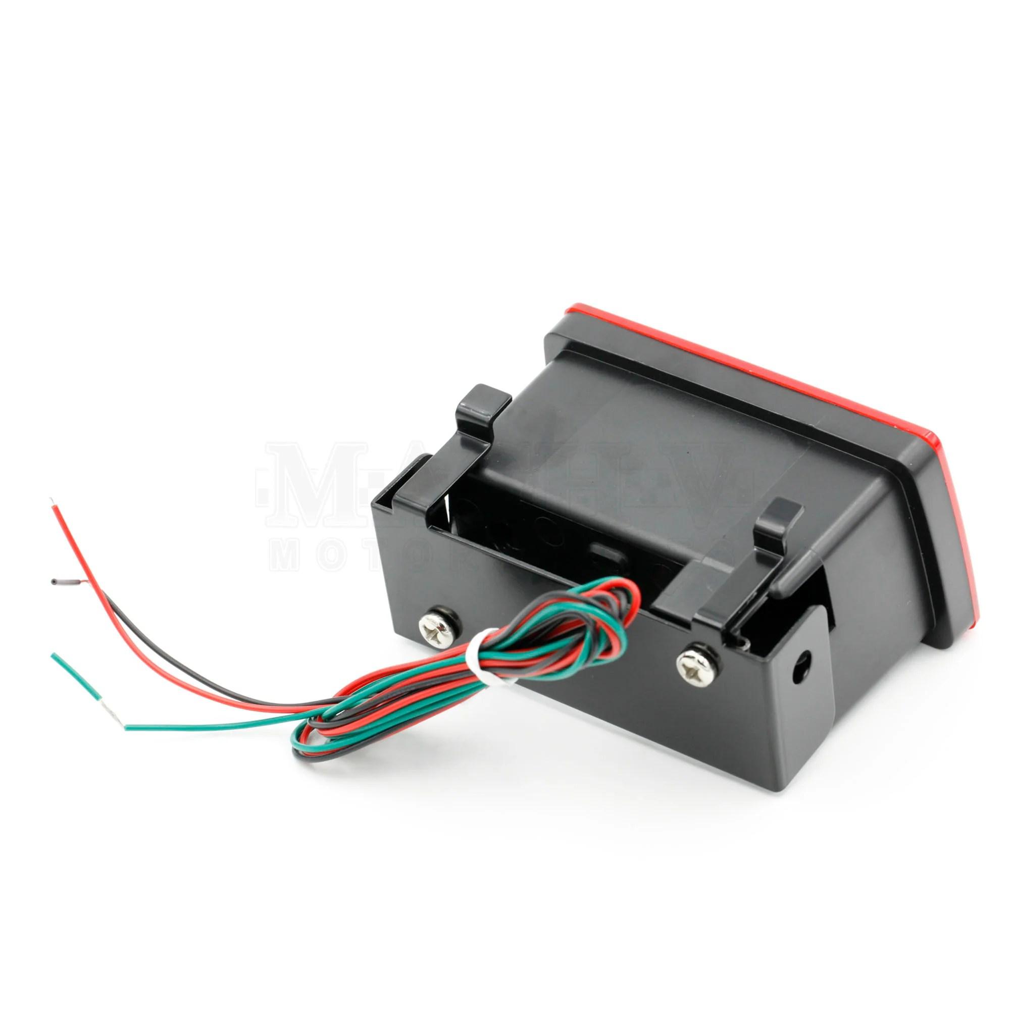 f1 style rear brake lamp 2011 subaru wrx sti [ 2000 x 2000 Pixel ]