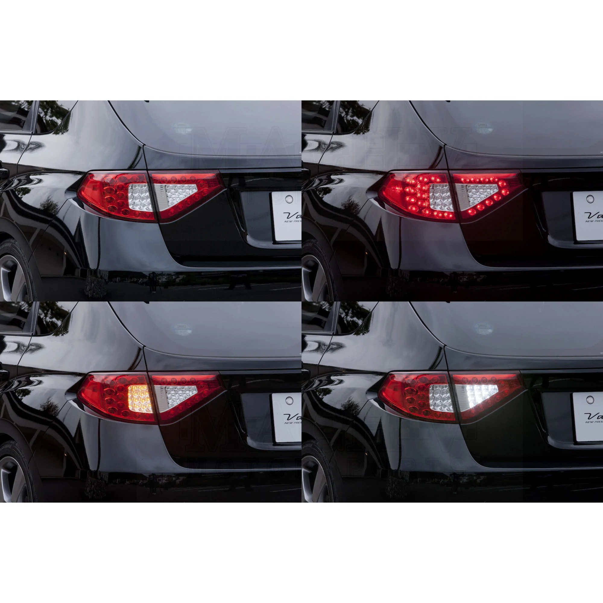 hight resolution of  red chrome valenti tail lamp gr gh lighting modes