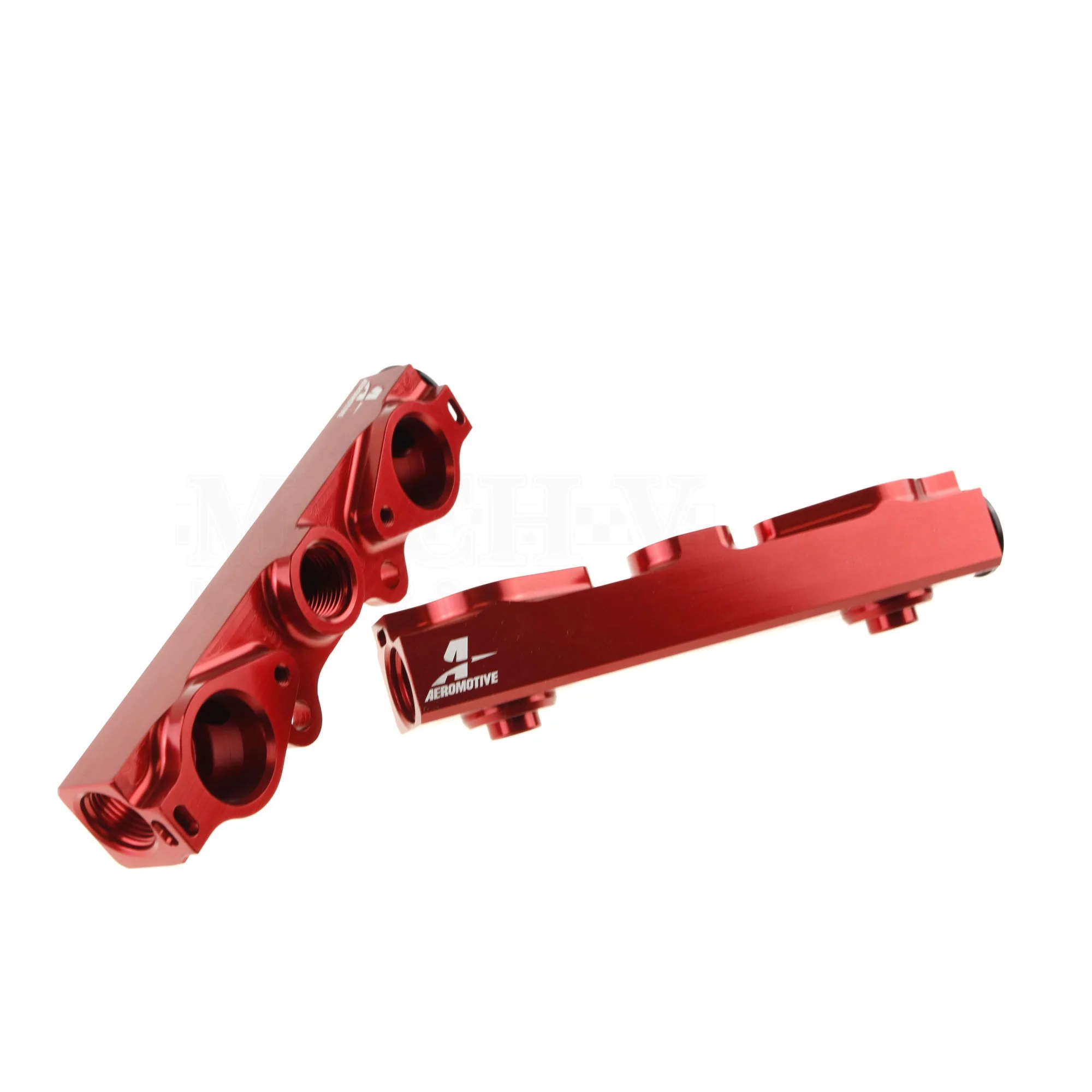 aeromotive side feed fuel rail 2004 2006 sti [ 2000 x 2000 Pixel ]