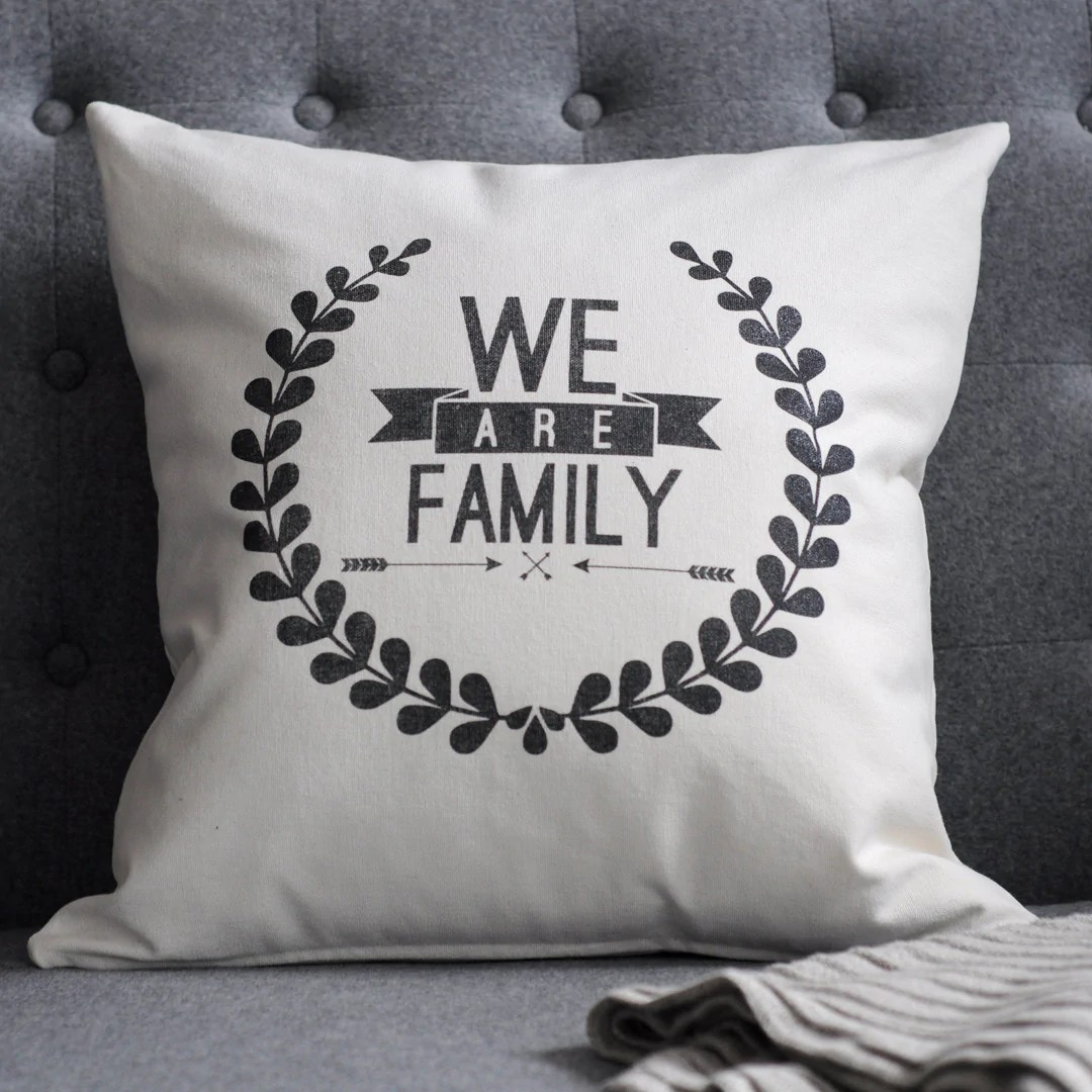 Pillow  Rhonna Designs  We Are Family  LatterDay Home