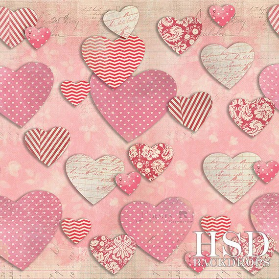 Valentines Day Photography Backdrops Portrait Studio