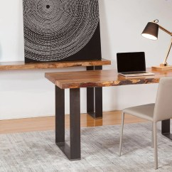 Sofa Tables Perth Wa Pet Protector Cover Canada Natural Edge Marri Console Table Desk With Steel Base Timber And Industrial Black Thick