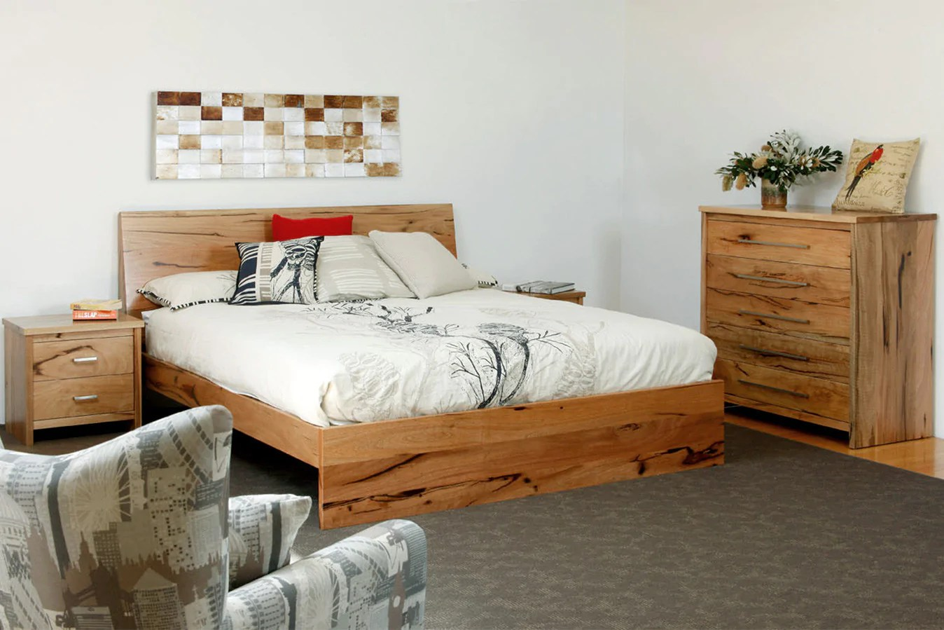 bedroom chair perth wa la z boy lift controller boranup solid marri furniture suite timber bed