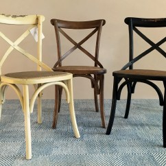 French Bistro Table And Chairs Uk Counter Height Bar Parisian Wooden Café Style Strap Back Wicker Seat