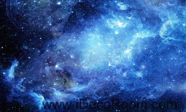 3d Wallpaper For Bedroom Uk Galaxy Stars Night Sky 00075 Ceiling Wall Mural Wall Paper