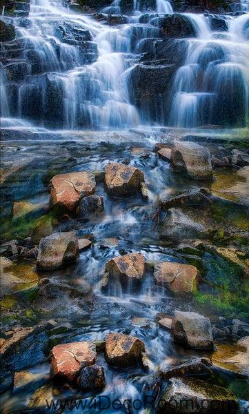 Waterfall Stone Steam Brook 00025 Floor Decals 3D