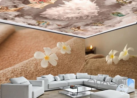 Entire Living Room Wall Murals Page 10 IDecoRoom