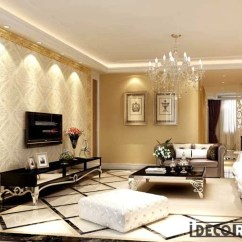 Wall Paper For Living Room Com Golden Frame Fancy Pattern Wallpaper Art Murals Tap To Expand Decals Prints Decor Idcwp