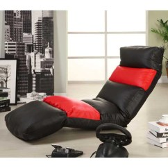 Gaming Lounge Chair Leather Chrome Encore 5 Position 247test