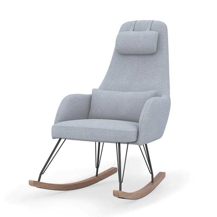 Mid century modern nursery Weeble Rocking Chair