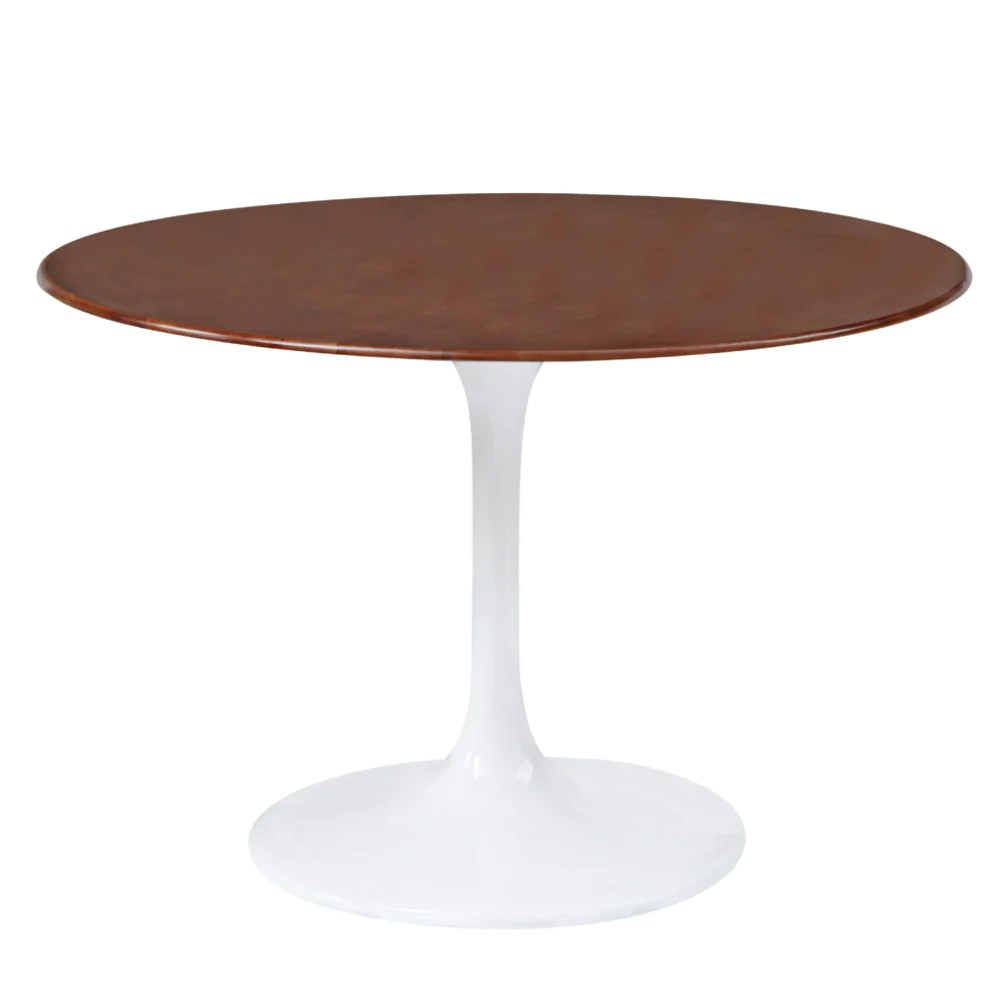 tulip table and chairs garden marble tables eero saarinen best reproduction emfurn style 30 walnut dining free shipping