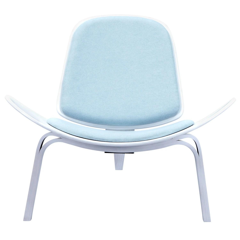 white shell chair bedroom sydney wegner style emfurn