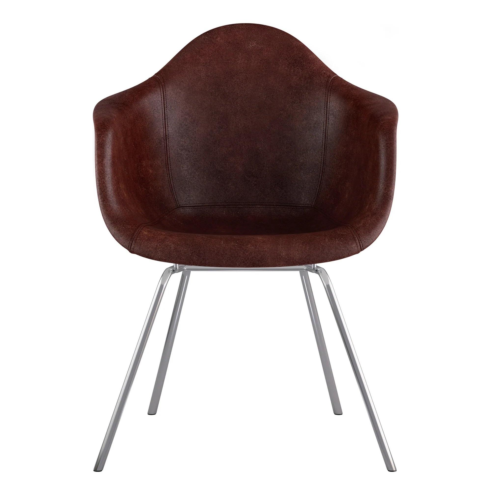 eames leather chair dining ergonomic and desk reproduction lounge replica emfurn dax style 4 leg armhair chairs free shipping