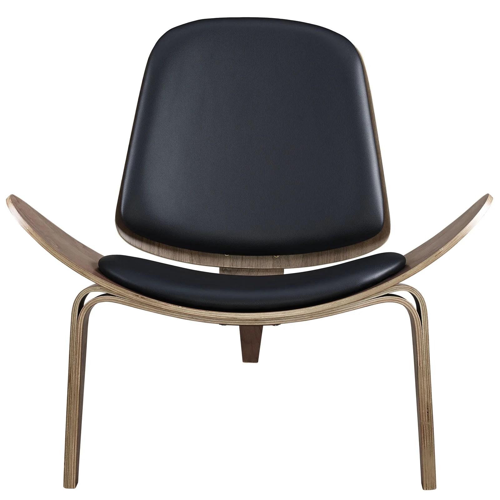 shell chair replica best compact high hans wegner vinyl emfurn j style