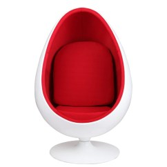 Adult Egg Chair Chairs Wedding Hall Eero Aarnio Style Pod Emfurn
