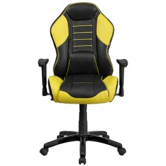 Yellow Office Chair Outdoor Glides Monza Executive Gaming Emfurn